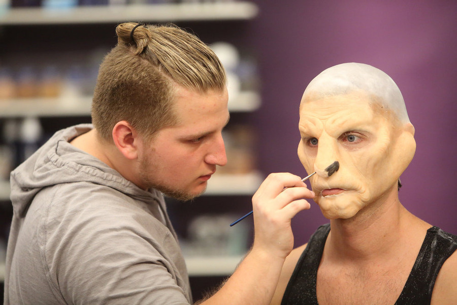 "FACE OFF -- ""Lost Languages"" Episode 1003 -- Pictured: Rob Seal -- (Photo by: Jordin Althaus/Syfy)"