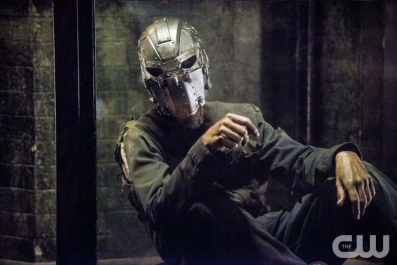 Who was that masked man? [photo: Diyah Pera/The CW]