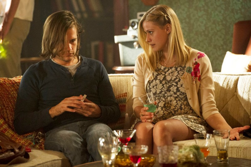 """THE MAGICIANS -- """"Consequences of Advanced Spellcasting"""" Episode 103 -- Pictured: (l-r) Jason Ralph as Quentin, Olivia Taylor Dudley as Alice -- (Photo by: Carole Segal/Syfy)"""