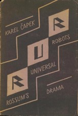 Cover of the first edition of the play, Aventinum, Prague, 1920. Courtesy Wikipedia