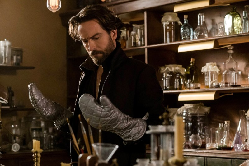 "SLEEPY HOLLOW: Tom Mison in the ""Incommunicado"" episode of SLEEPY HOLLOW airing Friday, March 18 (8:00-9:00 PM ET/PT) on FOX. ©2016 Fox Broadcasting Co. Cr: Tina Rowden/FOX"