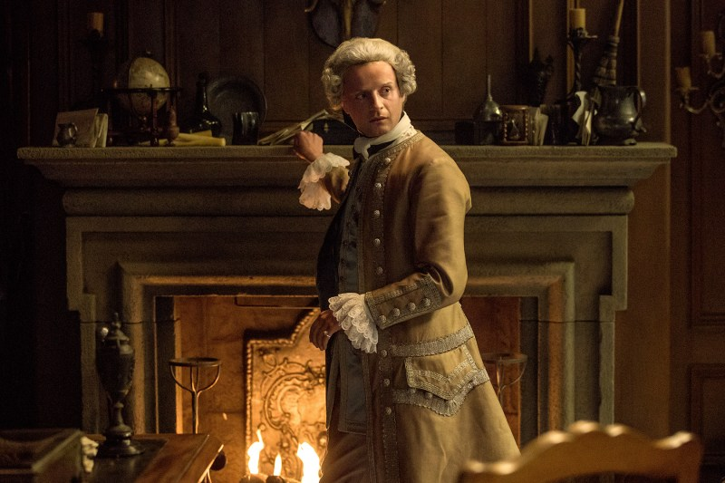 Charles (Andrew Gower) had a nasty bout with them as a child. So his fear is understandable.