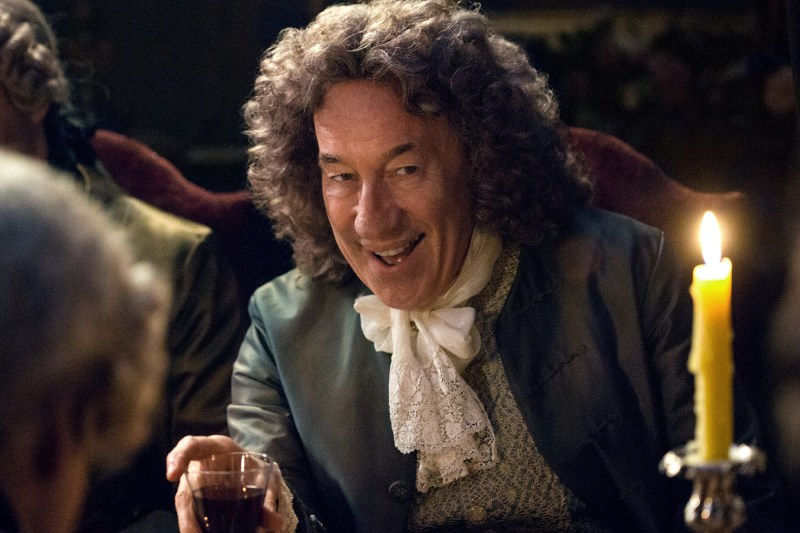 The Duke of Sandringham (Simon Callow) looking just as pleased with dinner party shenanigans as I am.