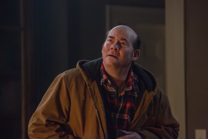 """DAVID KOECHNER as Howard in town in Legendary Pictures? """"Krampus"""", a darkly festive tale of a yuletide ghoul that reveals an irreverently twisted side to the holiday."""