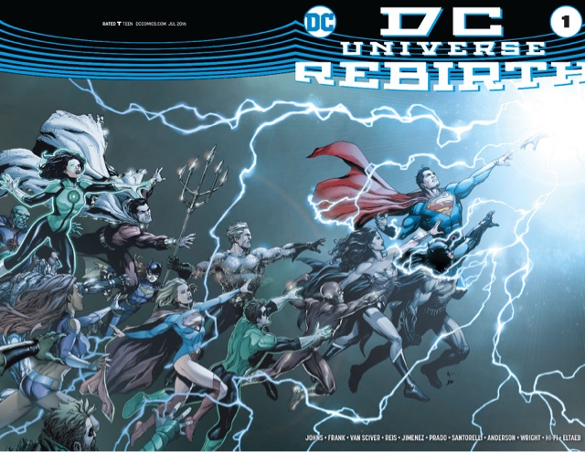 DC Rebirth 80 Page Gaint #1