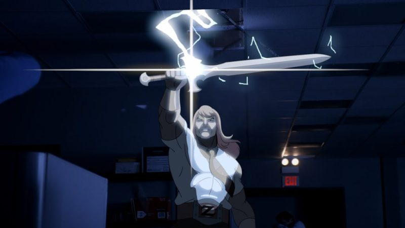 """SON OF ZORN: Zorn (voiced by Jason Sudeikis) in the """"Workplace Battles"""" episode of SON OF ZORN airing Sunday, Oct. 2 (8:30-9:00 PM ET/PT) on FOX. ©2016 Fox Broadcasting Co. Cr: FOX"""