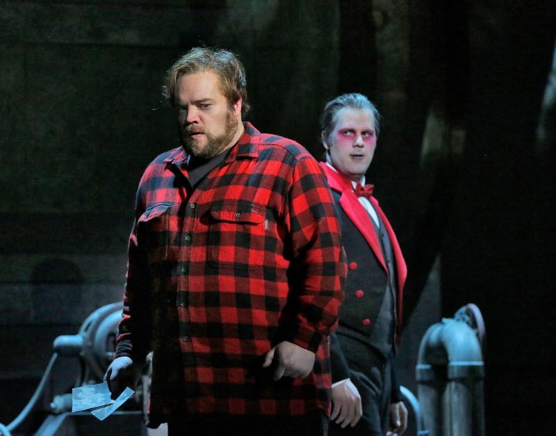 Brian Mulligan as Jack Torrance. (Photo by Ken Howard, courtesy Minnesota Opera)