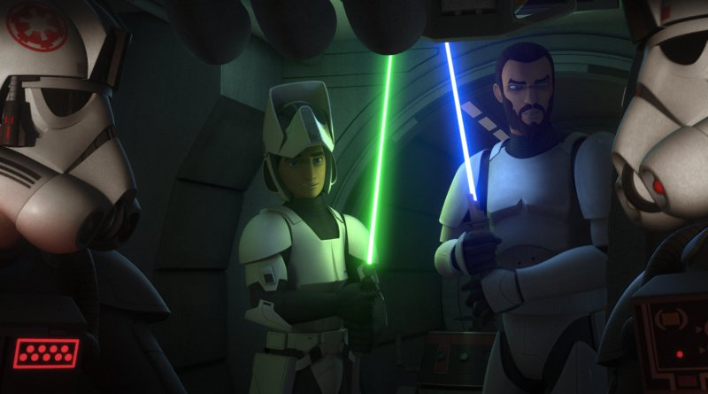 Recap: STAR WARS REBELS – Still Waiting for the Connection to ROGUE ONE