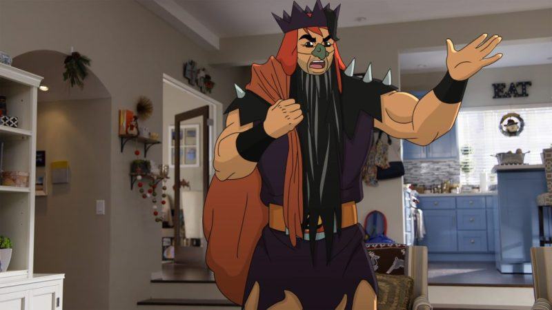 """SON OF ZORN: Zorn (voiced by Jason Sudeikis) in the """"Happy Grafelnik"""" episode of SON OF ZORN airing Sunday, Dec. 11 (8:30-9:00 PM ET/PT) on FOX. ©2016 Fox Broadcasting Co. Cr: FOX"""