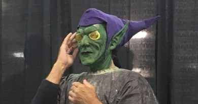 Smallville Comic Con 2017: Bill Blair Gets a Green Goblin Makeover