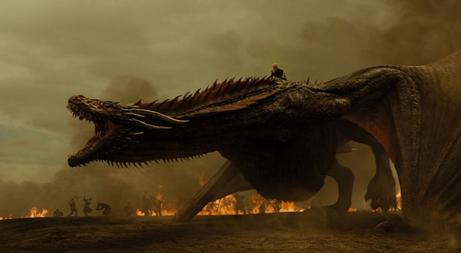 GAME OF THRONES Releases Its Flame Thrower