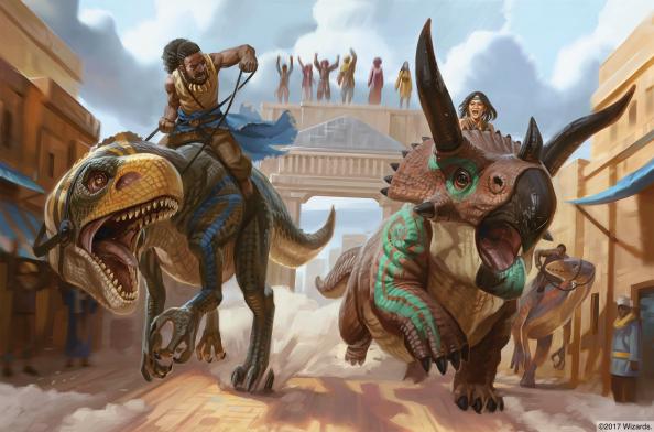 dinosaur-race