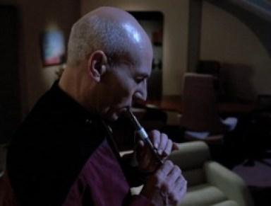 Star Trek The Next Generation - Captain Picard in Inner Light