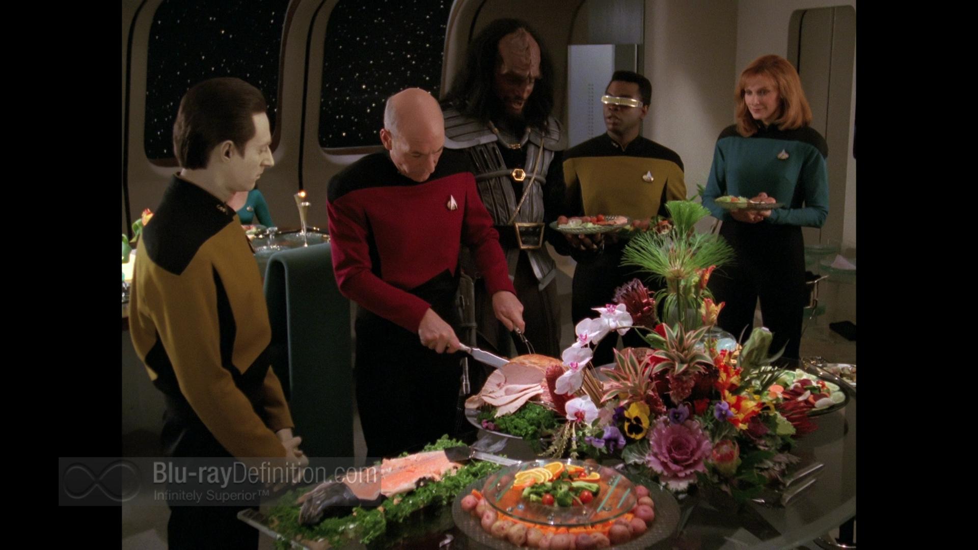 Sins of the Father - Blu-ray - bridge crew - Star Trek TNG