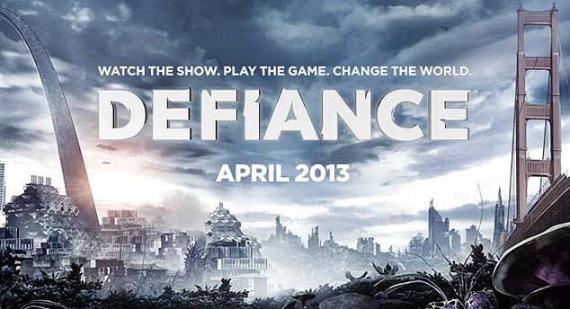 Defiance TV show Logo - Syfy Channel
