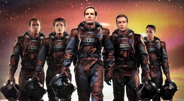 Enterprise season 1 Blu-ray cast (Scott Bakula and Jolene Blalock) - scifiempire.net