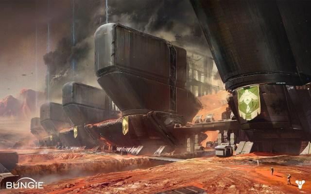 Exclusion zone in Destiny (Bungie)