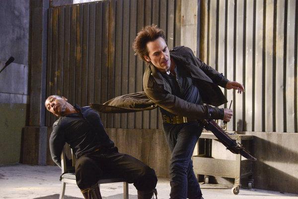 Giancarlo Esposito as Major Tom Neville, Billy Burke as Miles Matheson
