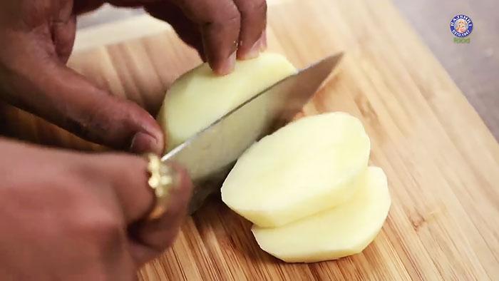 Кез-келген тағамдарға картопты әдемі кесудің 7 тәсілі