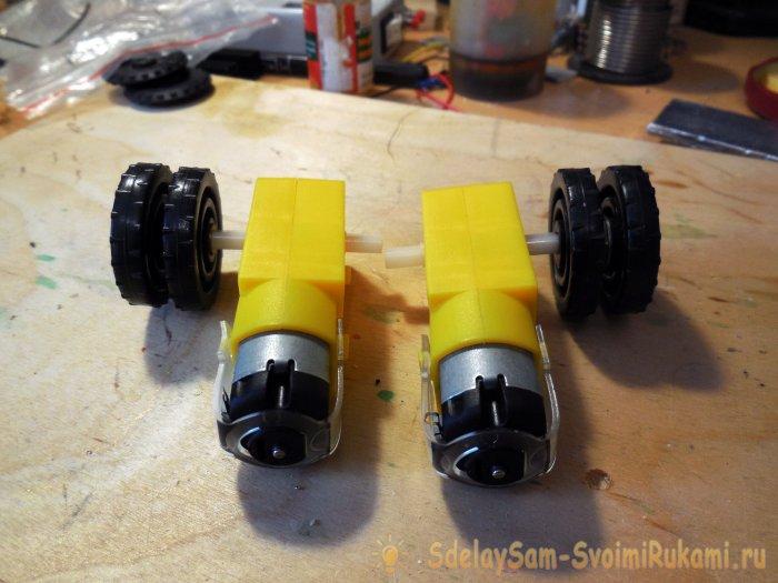 Изготовление шасси машинки