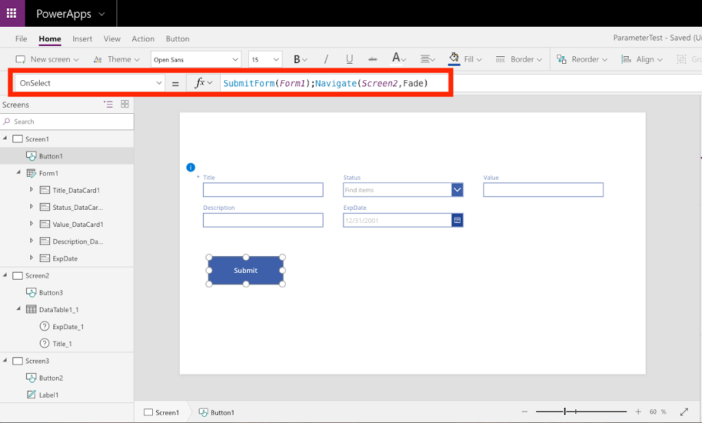 PowerApps Bug: SharePoint Date Field Not Populated | April