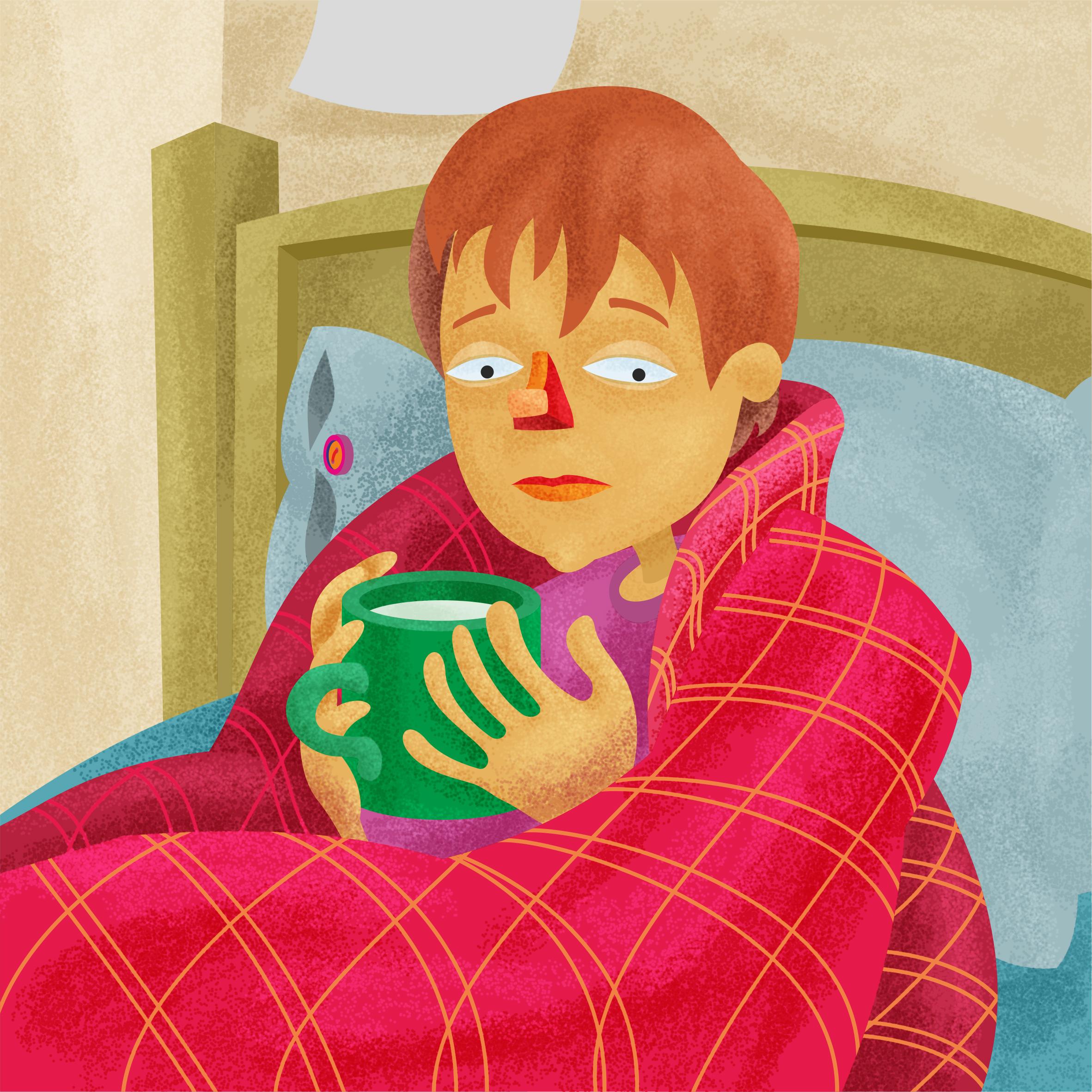 Hur snabbt botar rinnande näsa och förhindrar utveckling av farliga komplikationer