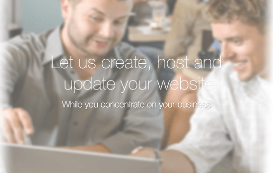 Let us create your website