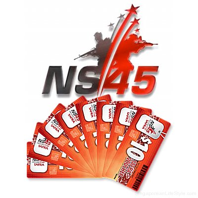 NS45 Vouchers - For Fathers to Sons - To Families And Friends - Singaporean LifeStyle