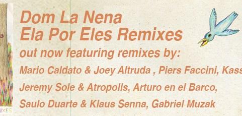 Dom La Nena's Ela Por Eles Remixes Out Now
