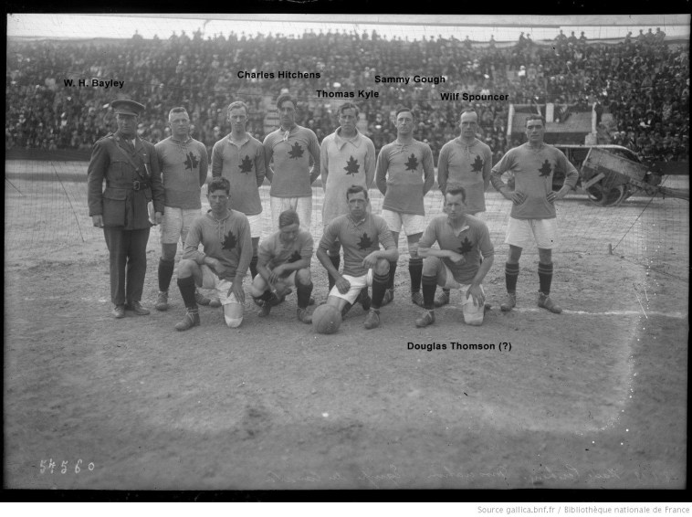 Canadian team photograph