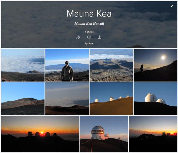 View my Mauna Kea Album