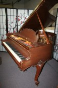 King Louis XV Style Steinway Model M Art Case 1929 (VIDEO) Rebuilt & Refinished Gorgeous Walnut $39,000.