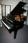 IBACH Concet Grand Piano Ebony 7' 1990 Made in Germany, Renner Action Outstanding Instrument $17,500