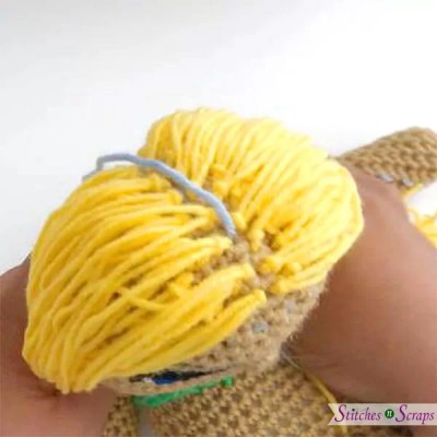 How to make crochet doll hair [tutorial] – The C Side | 400x400