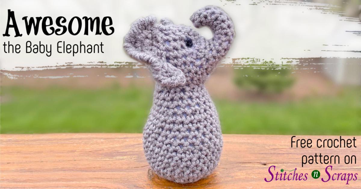 How To Crochet Elephant Edging - Pretty Ideas | 628x1200