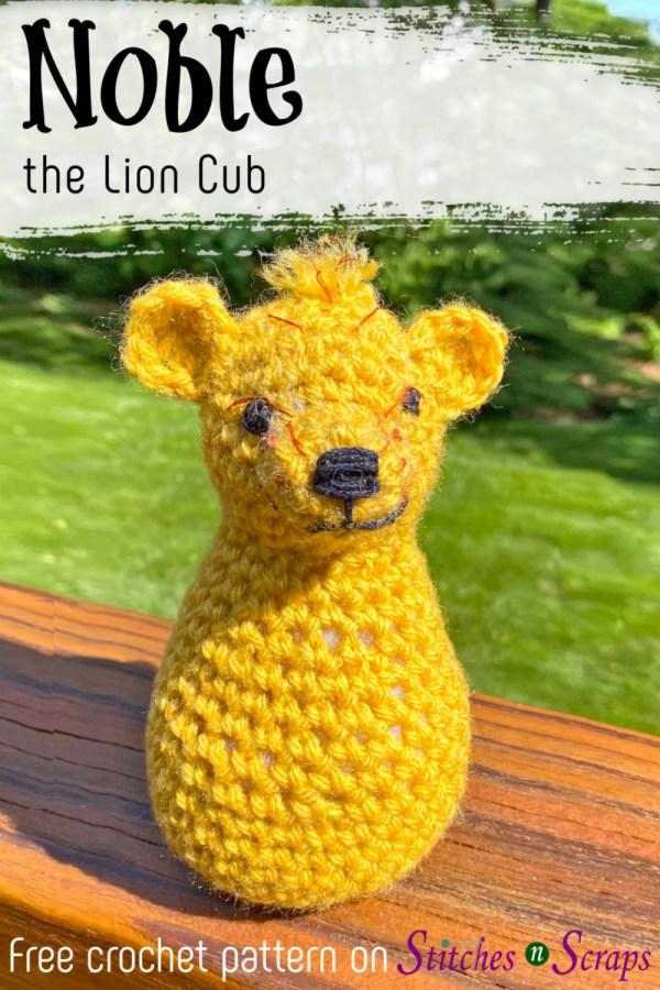 Crochet Lion Amigurumi Pattern - Free - Ami Amour | 900x600