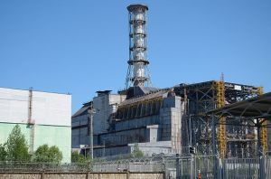 Chernobyl Nuclear Power Plant in 2011