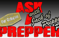 Interview: Ask a prepper - Jack