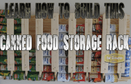 Build a great can food storage rack for cheap