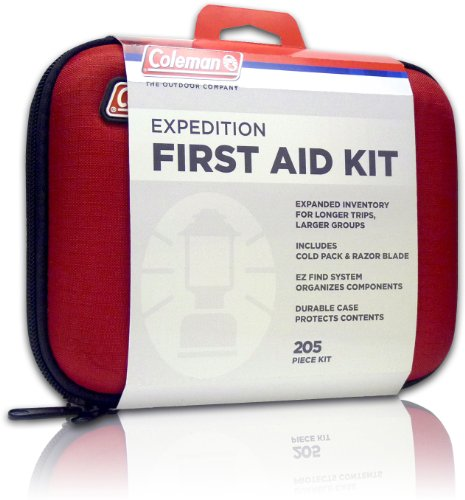 Coleman-Expedition-First-Aid-Kit-205-Piece-Red-0