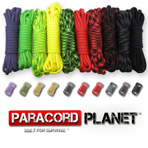 Paracord-Planet-550lb-Type-III-Paracord-Combo-Crafting-Kits-with-Buckles-ZOMBIE-0