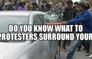 Do you know what to do if protestors surround your car?