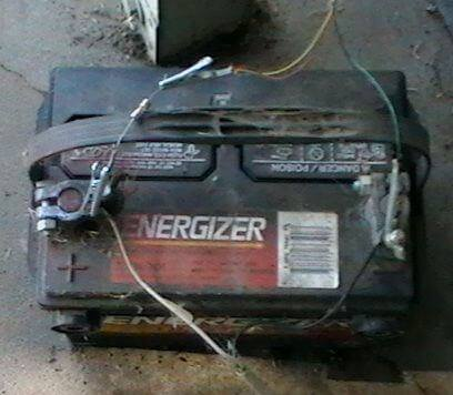 Put dead car & laptop batteries to use in many ways