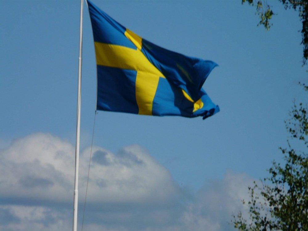 El día nacional y la bandera de Suecia