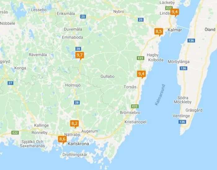 Svea y Pablo - Campos de golf en Suecia donde he jugado