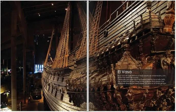 Svea y Pablo - 101 Sweden - Maravillas de Suecia - El Vasa
