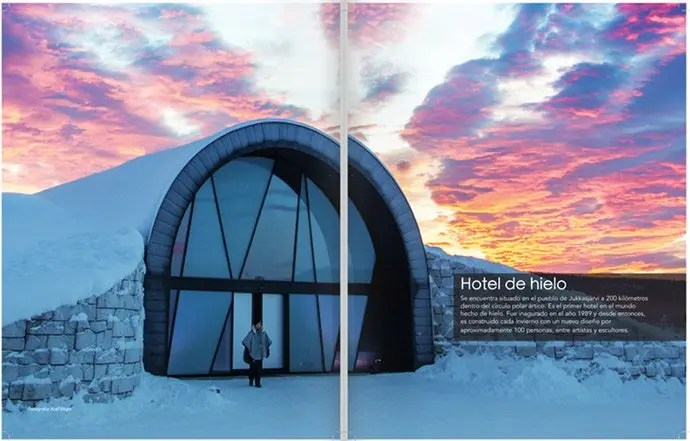 Svea y Pablo - 101 Sweden - Maravillas de Suecia - Hotel de hielo