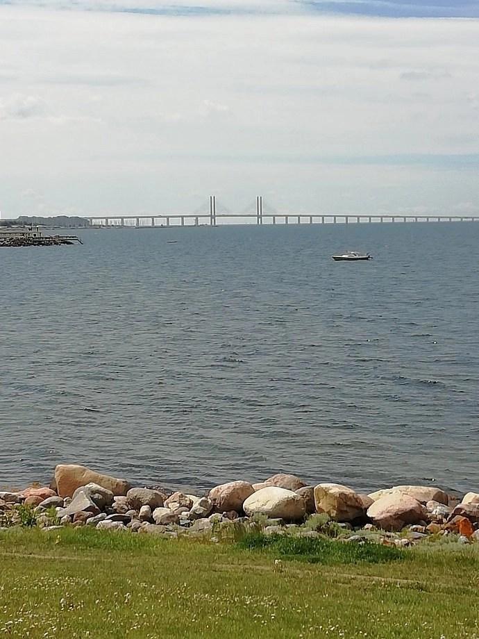 Svea y Pablo - el Puente de Öresund