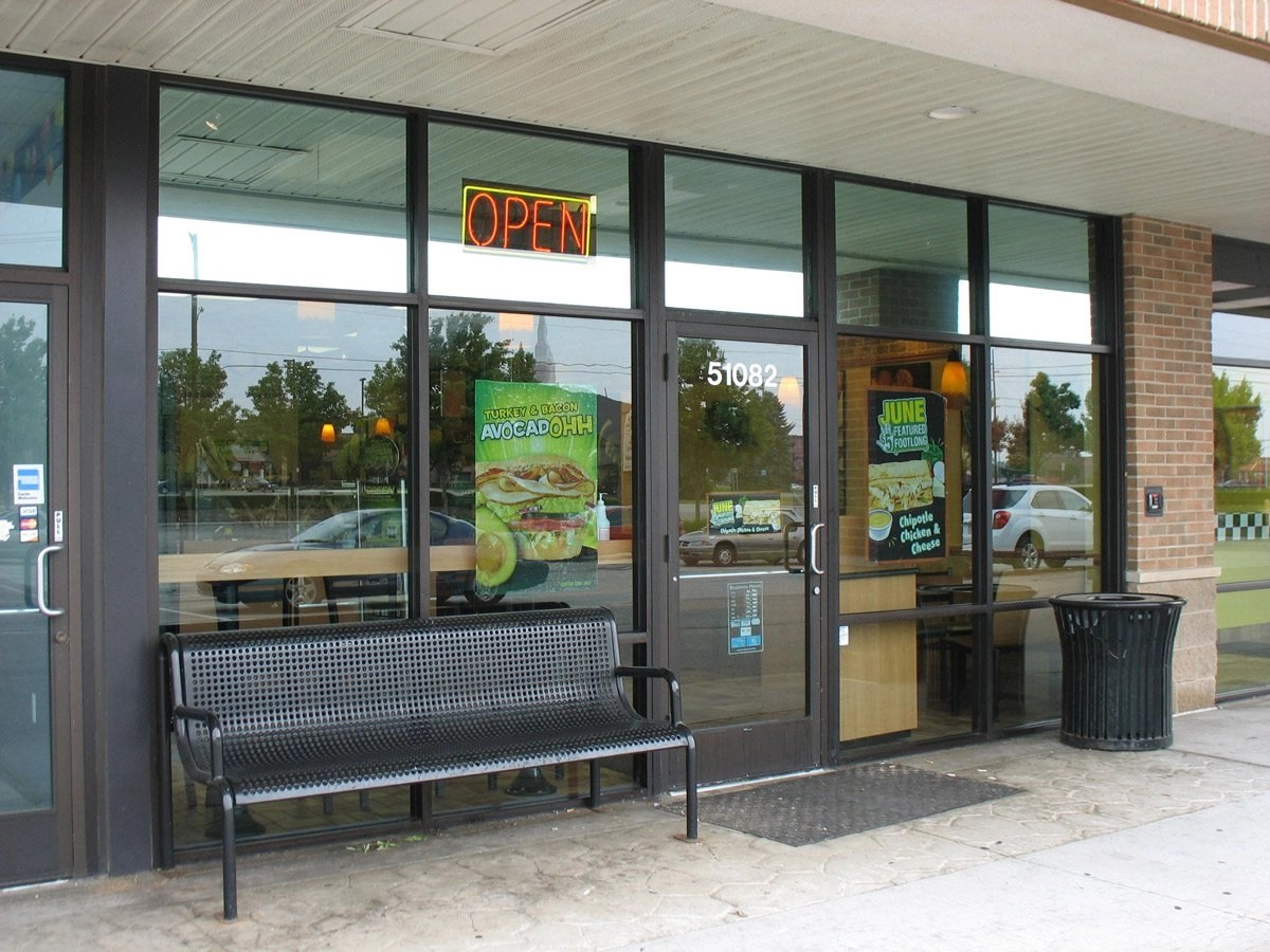 Commercial Window Tinting - foodservice