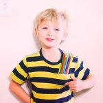 Purple-Sherbet-Photography-Child-Boy-Holding-Pens-Drawing-Kids-Creativity-Young-Posing